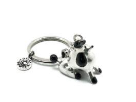 kr026-07-key-chain-poodle-1-7x3-5x3-cm
