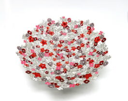 pt028-12cr-platter-mix-flower-with-color-dia-12x3-5-inch