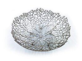 OB069A Bowl, Antler coral 39x39x16 cm.