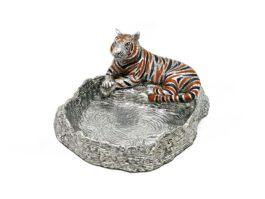 TR094 Tiger coin tray 13x15.5x7 cm.